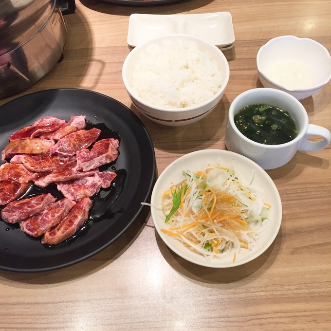焼肉じゅうじゅうカルビ 長崎三芳店 ランチ