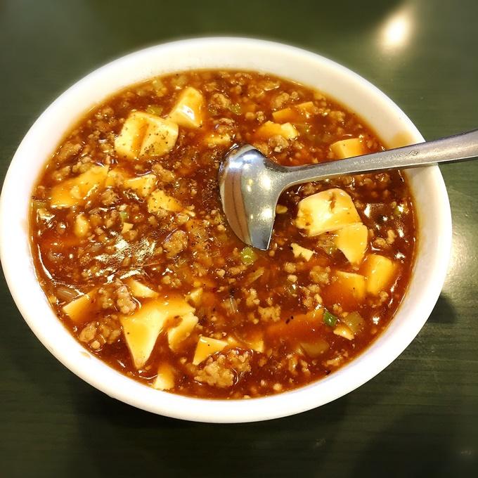 「江山楼 浦上店」 麻婆豆腐