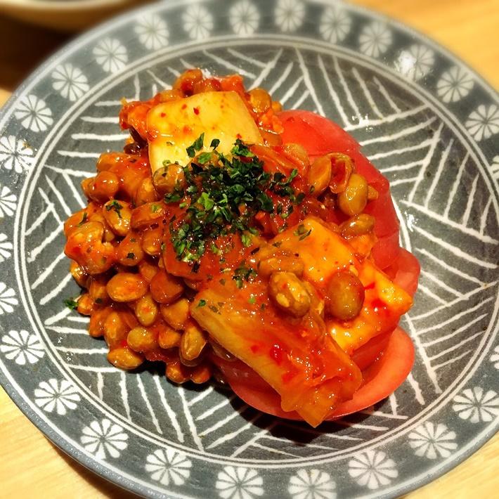 直伝酒呑の為の冷しトマト 500円