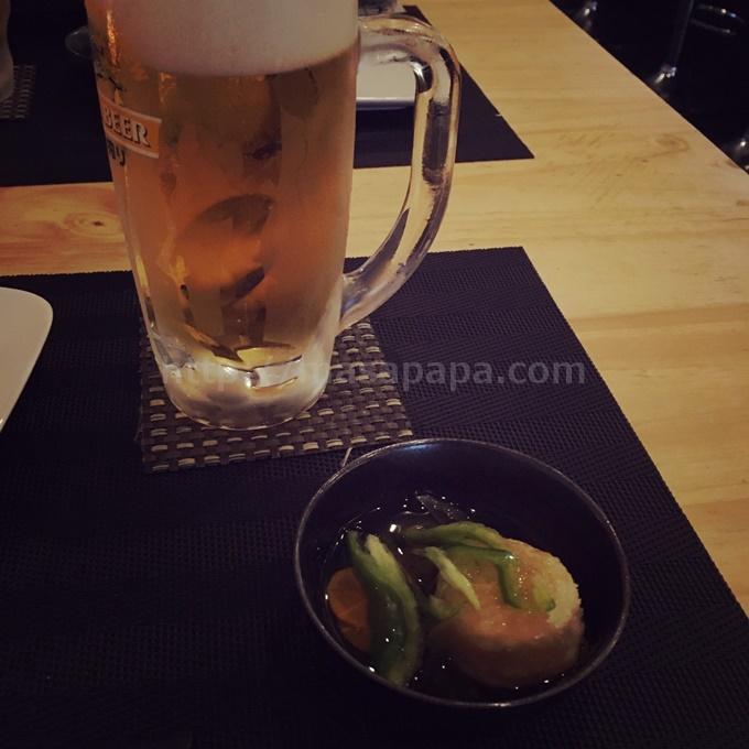 「木陰」 ビール
