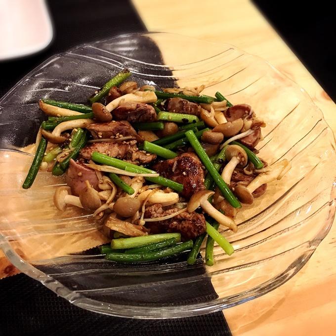 「木陰」 料理