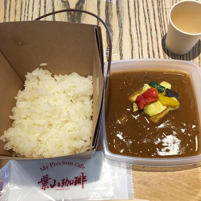 葉山珈琲 長崎オランダ通り店 カレーセット