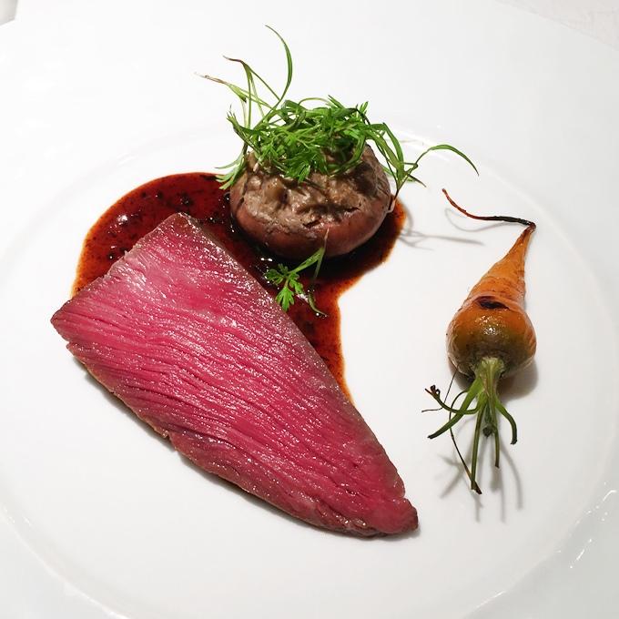 プルミエクリュの料理