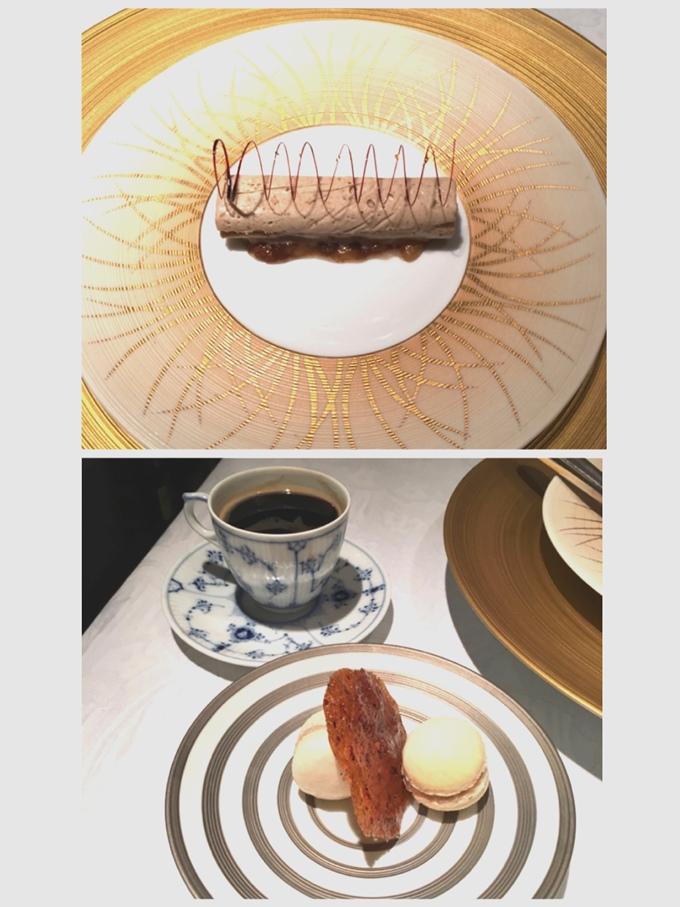 プルミエクリュのデザート