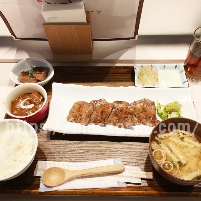 牛タン専門店大坂屋のランチ