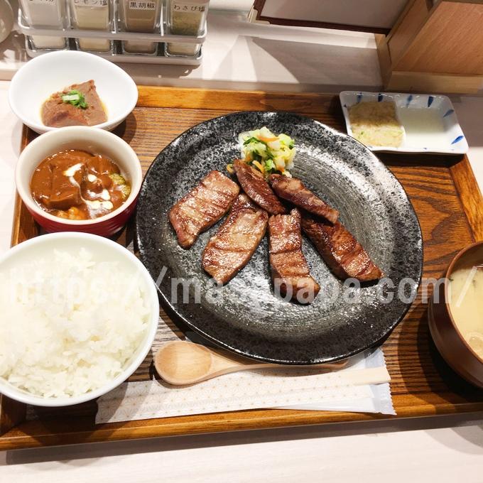 牛タン専門店大阪屋のランチ