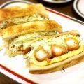 名古屋・栄「コンパル 栄西店」口コミ/名物エビフライサンドは一度食べると癖になる絶妙な味わい