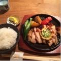 薬院「とり田」8月ランチ/福岡を代表する水炊き屋のレモンステーキ